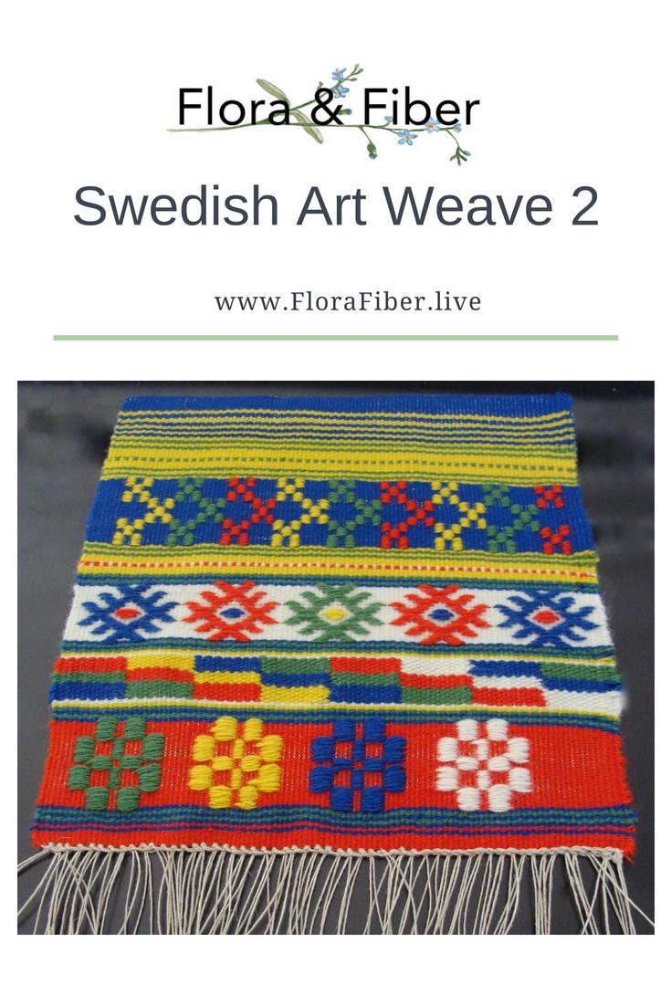 Swedish Art Weave 2 post