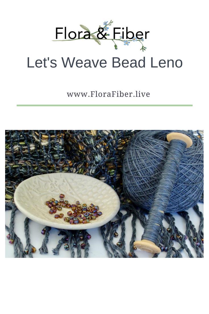 Let's Weave Bead Leno post
