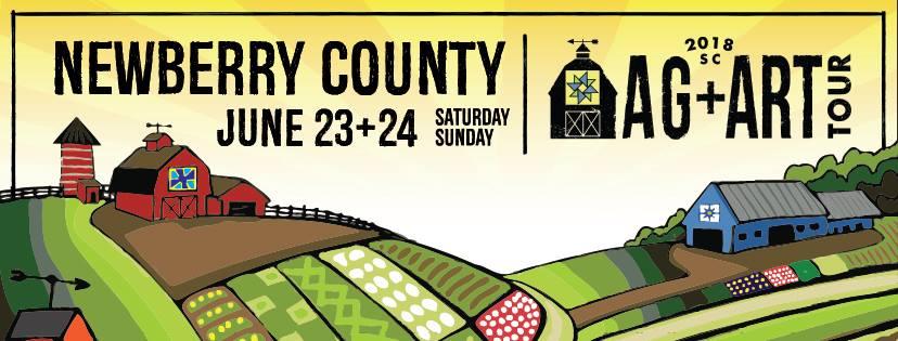 2018 Ag + Art Tour Newberry County SC