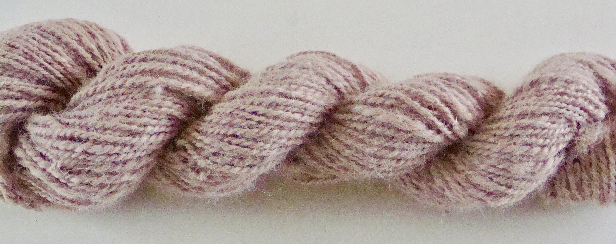 handspun naturally dyed alpaca yarn