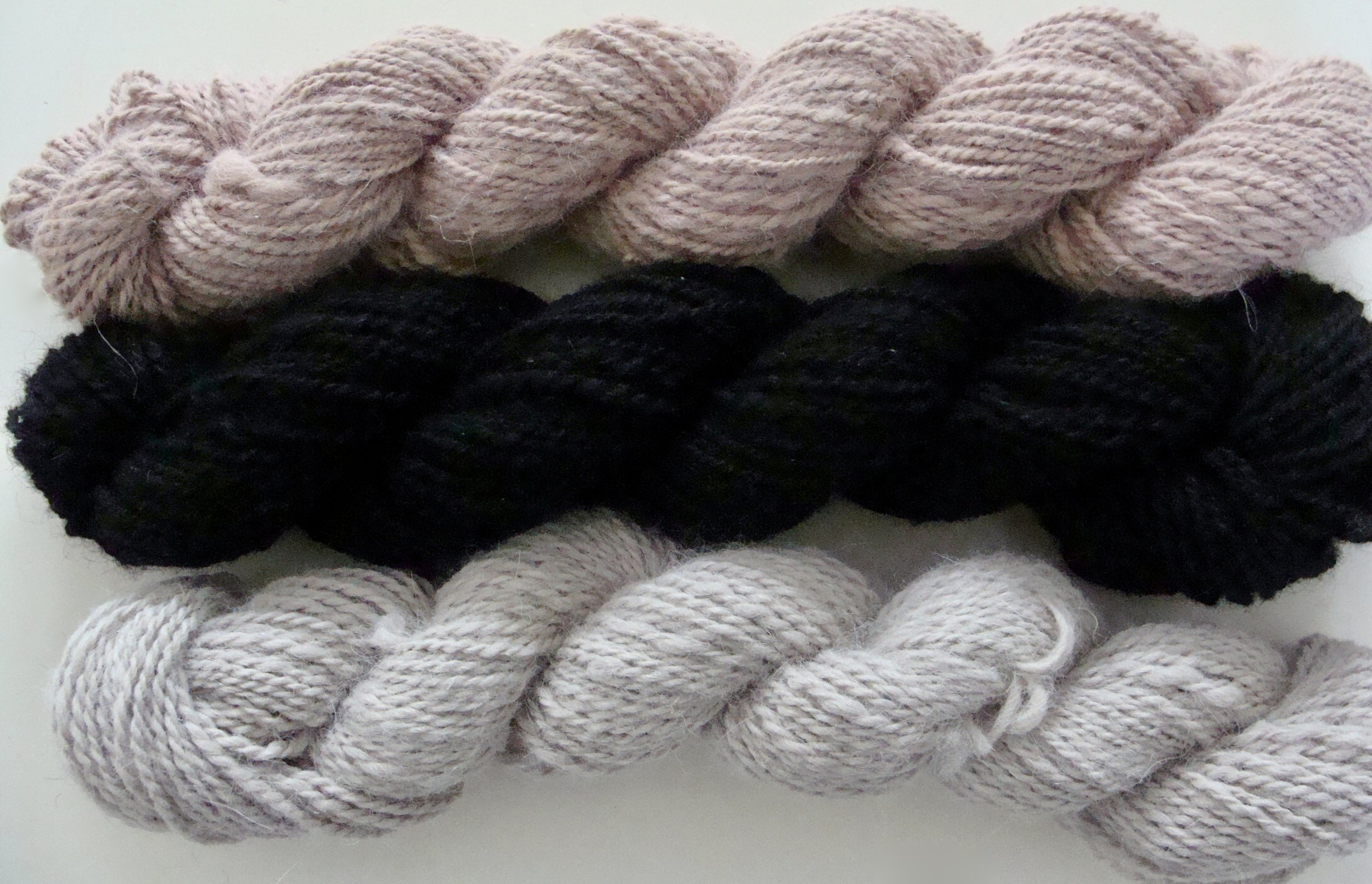 handspun alpaca yarns