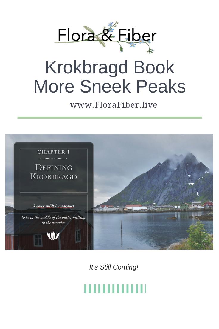 Krokbragd Book Sneak Peek pinnable graphic