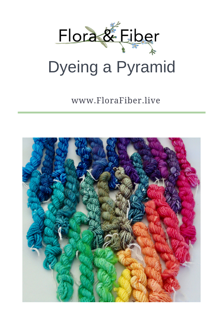 Dyeing a Pyramid Pinterest Graphic