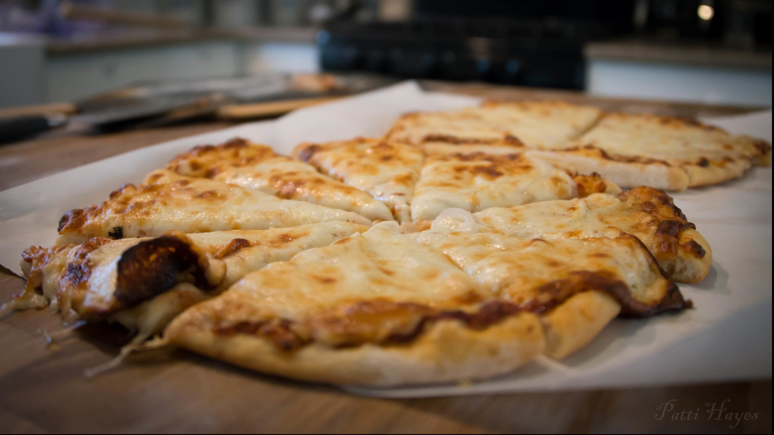 Pete's homemade pizza