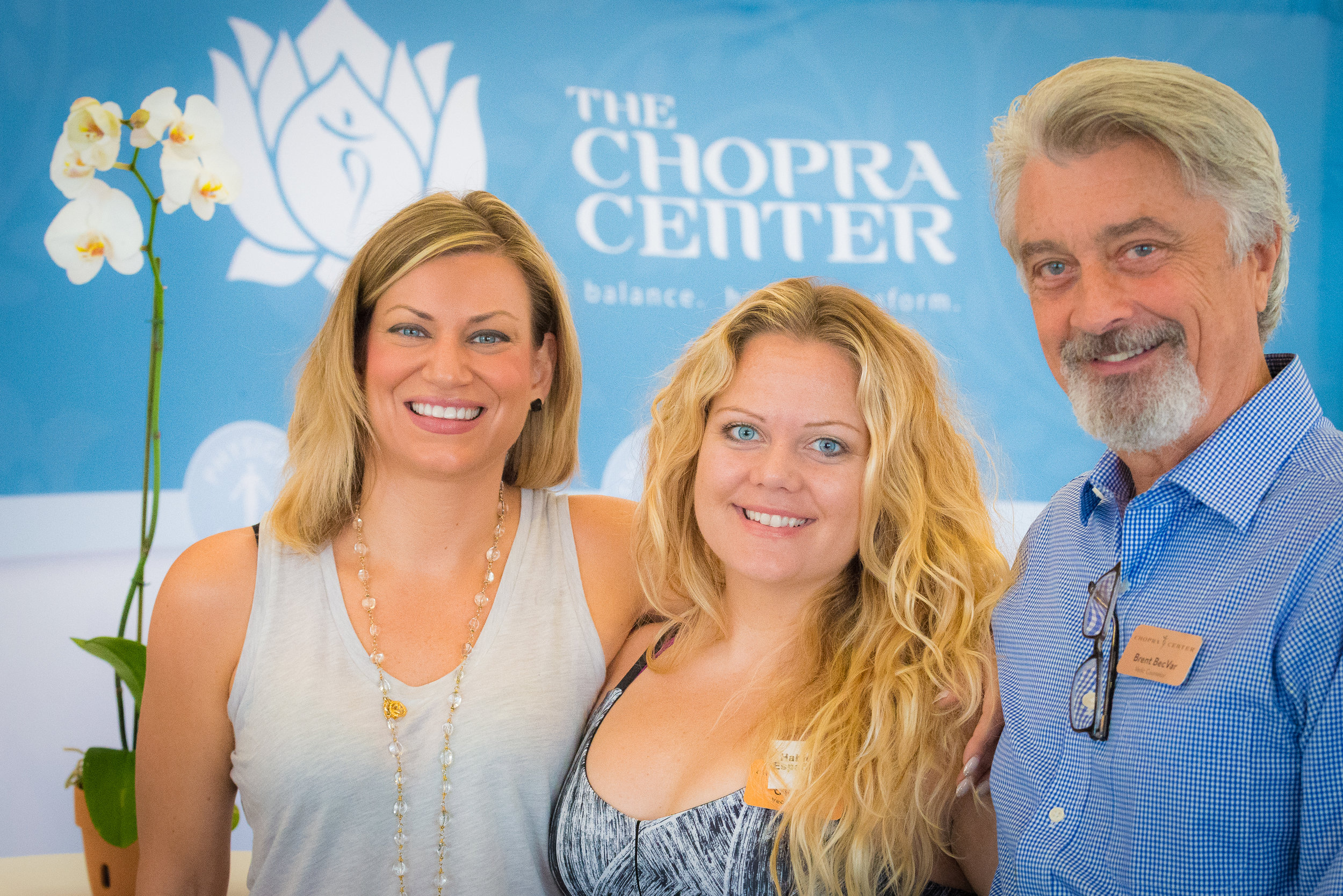 The Chopra center staff, chopra center for wellbeing, carlsbad, Ca