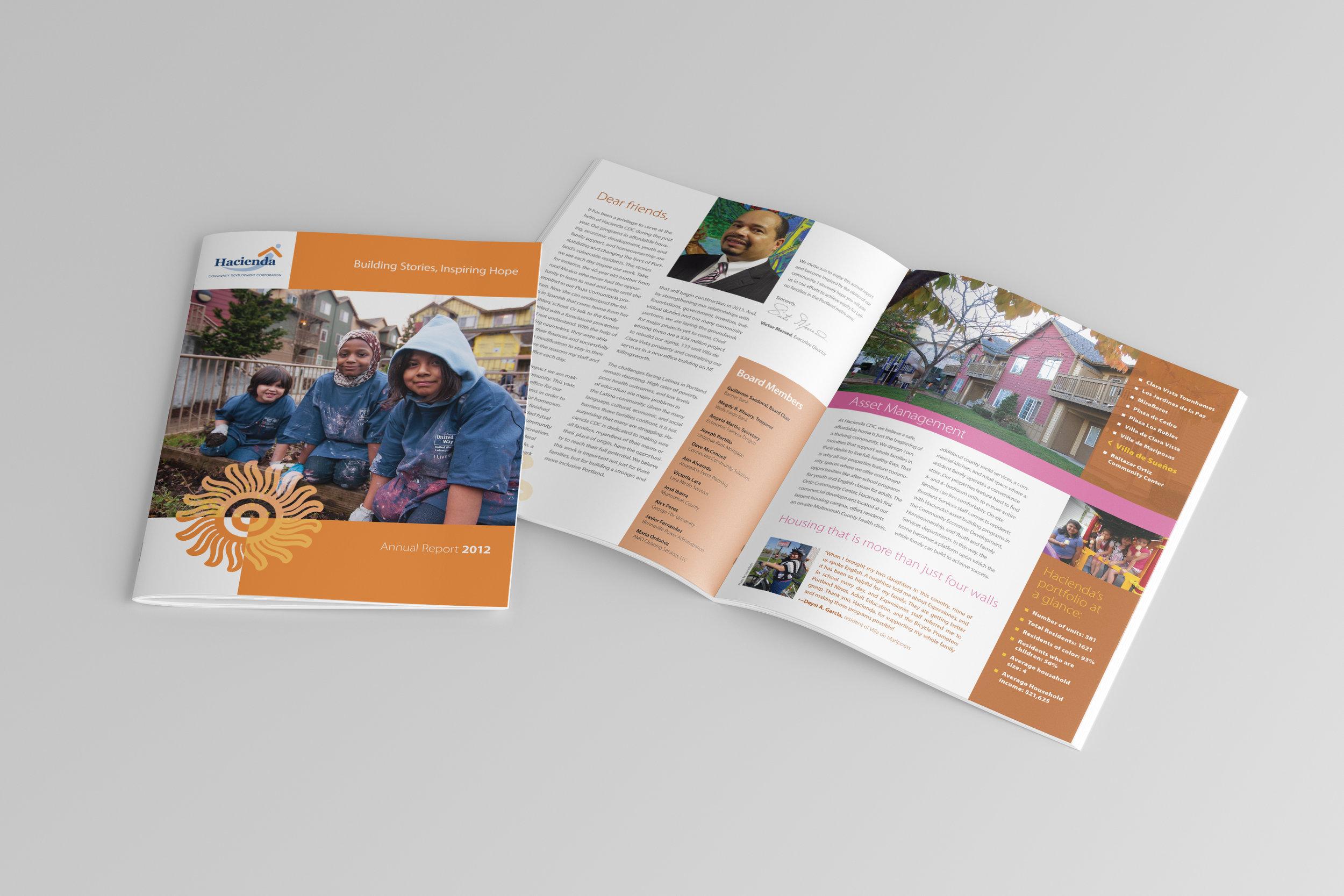 Annual report for hacienda community development corporation