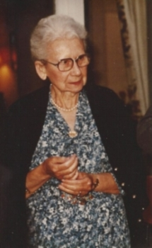 Amelie Royer Goffin, 1894 - 1993