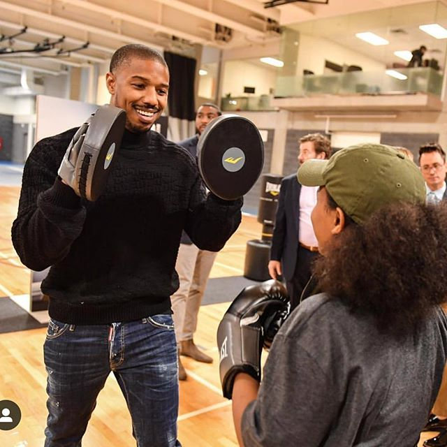 Today is Giving Tuesday.  @michaelbjordan recently visited @mlselaunchpad to donate boxing equipment to the facility that was made on behalf of Creed II. 🥊 . . We all found great deals over the weekend for ourselves, but now it's your chance to give back and make a difference. 💰 . . Join @michaelbjordan & the Game Changer team by showing your support today. . . Every $20 donation gets an electronic tax receipt. Every little bit helps.  #GivingTuesday #Creed2