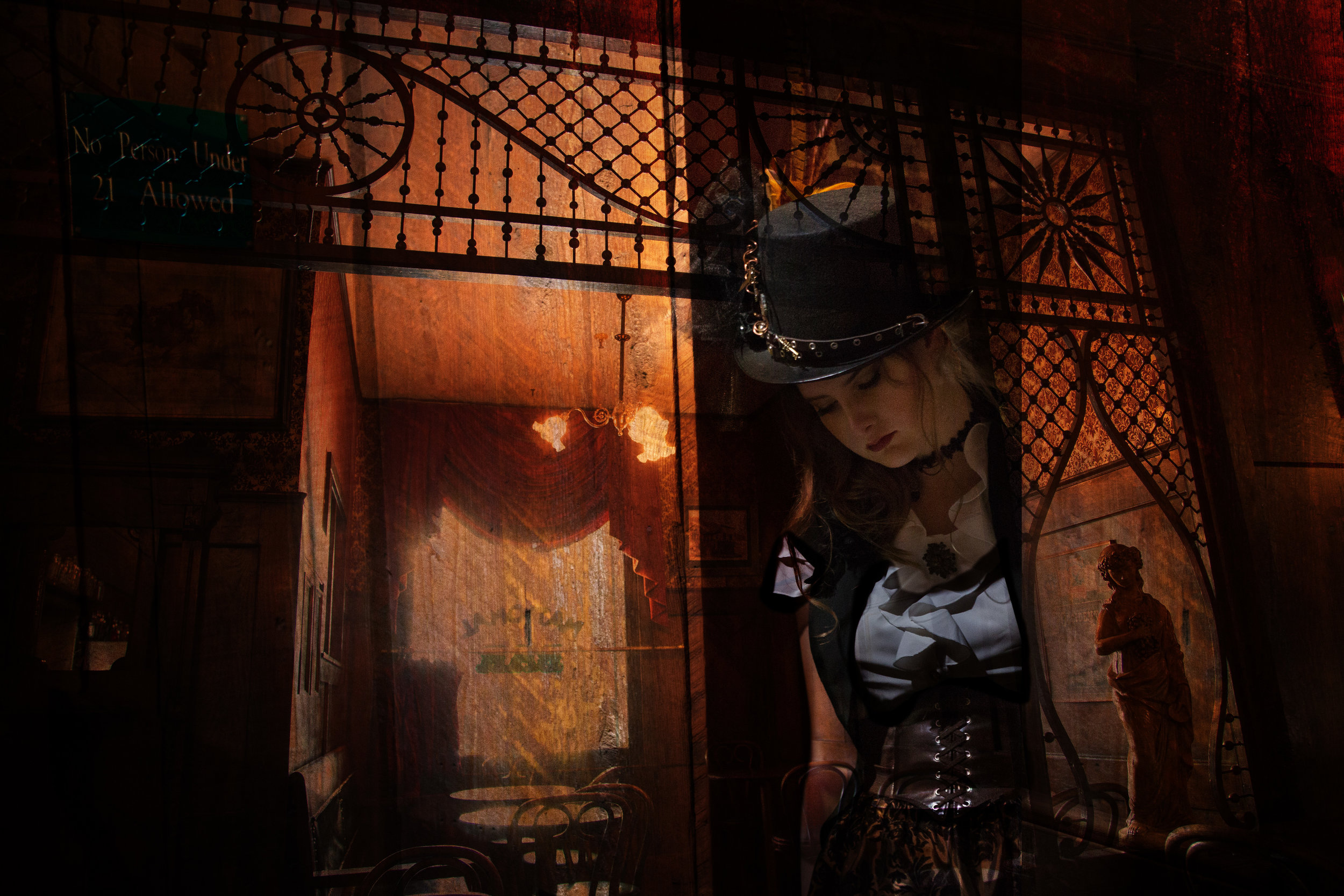 Steampunk meets Sierra Foothills and historic downtown Nevada City - Alyssa's Dream Session