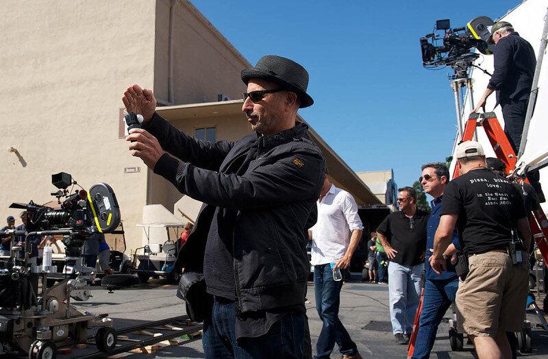 Steven Fierberg ASC On the set of    Entourage