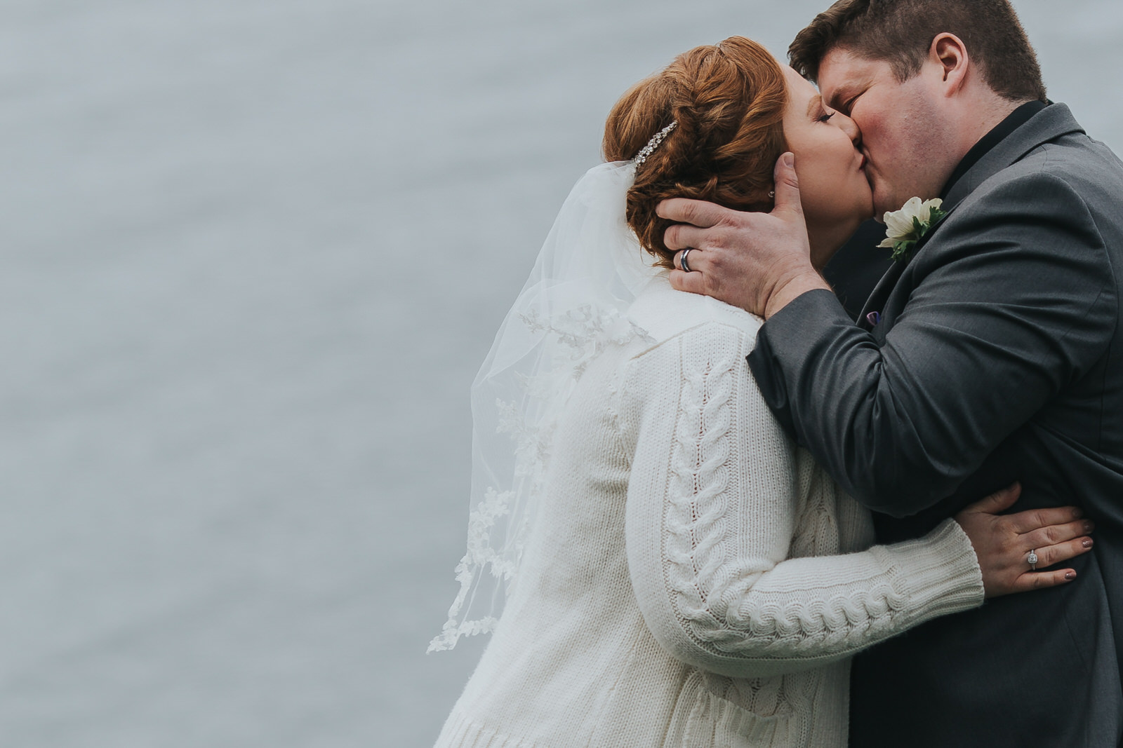 A waterside wedding in Sequim. - Lauren & Paul's beautiful big day.