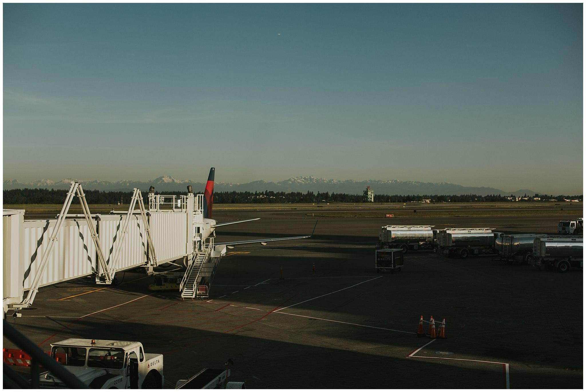 seattle airport runway