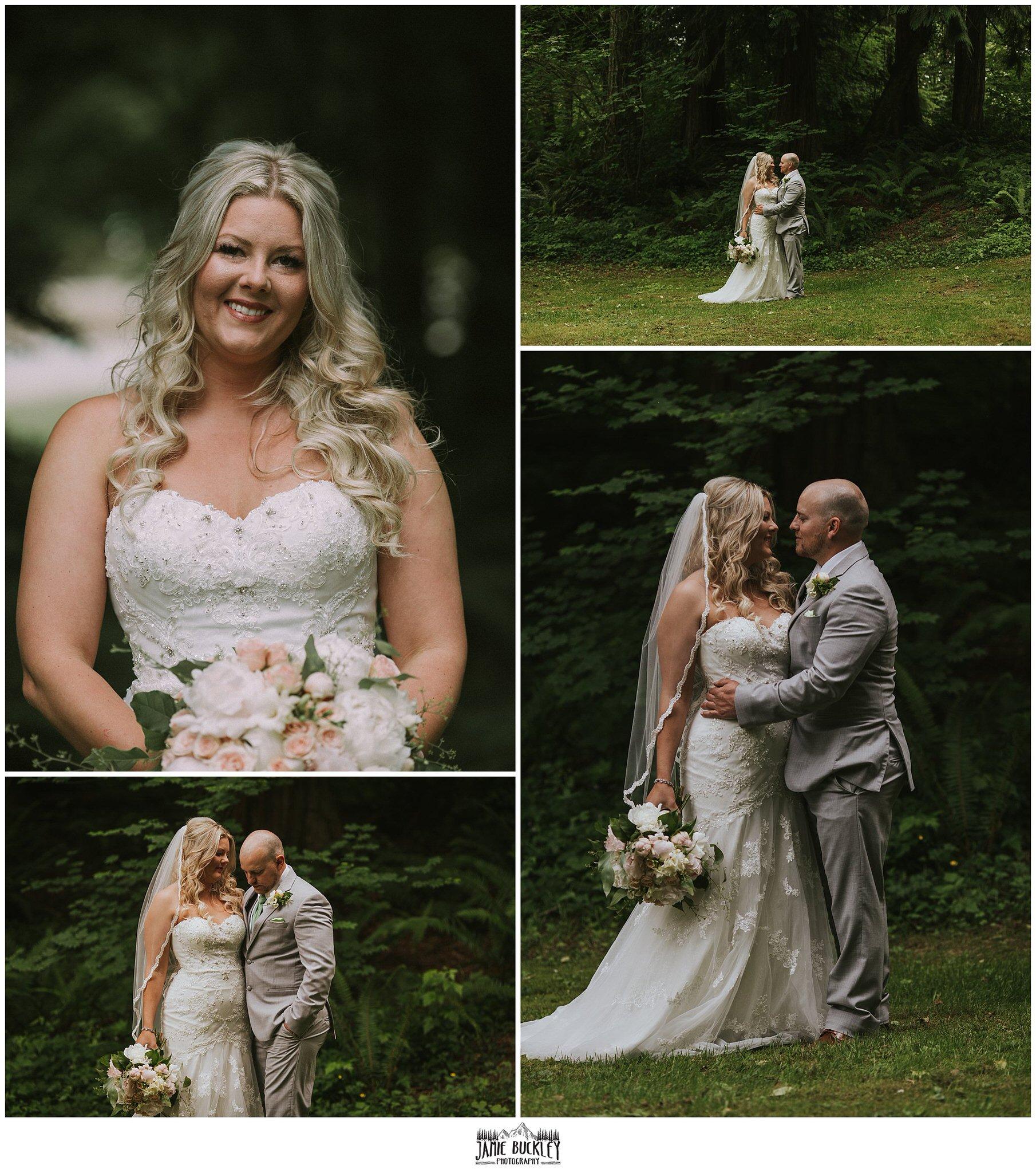 bride and groom before wedding