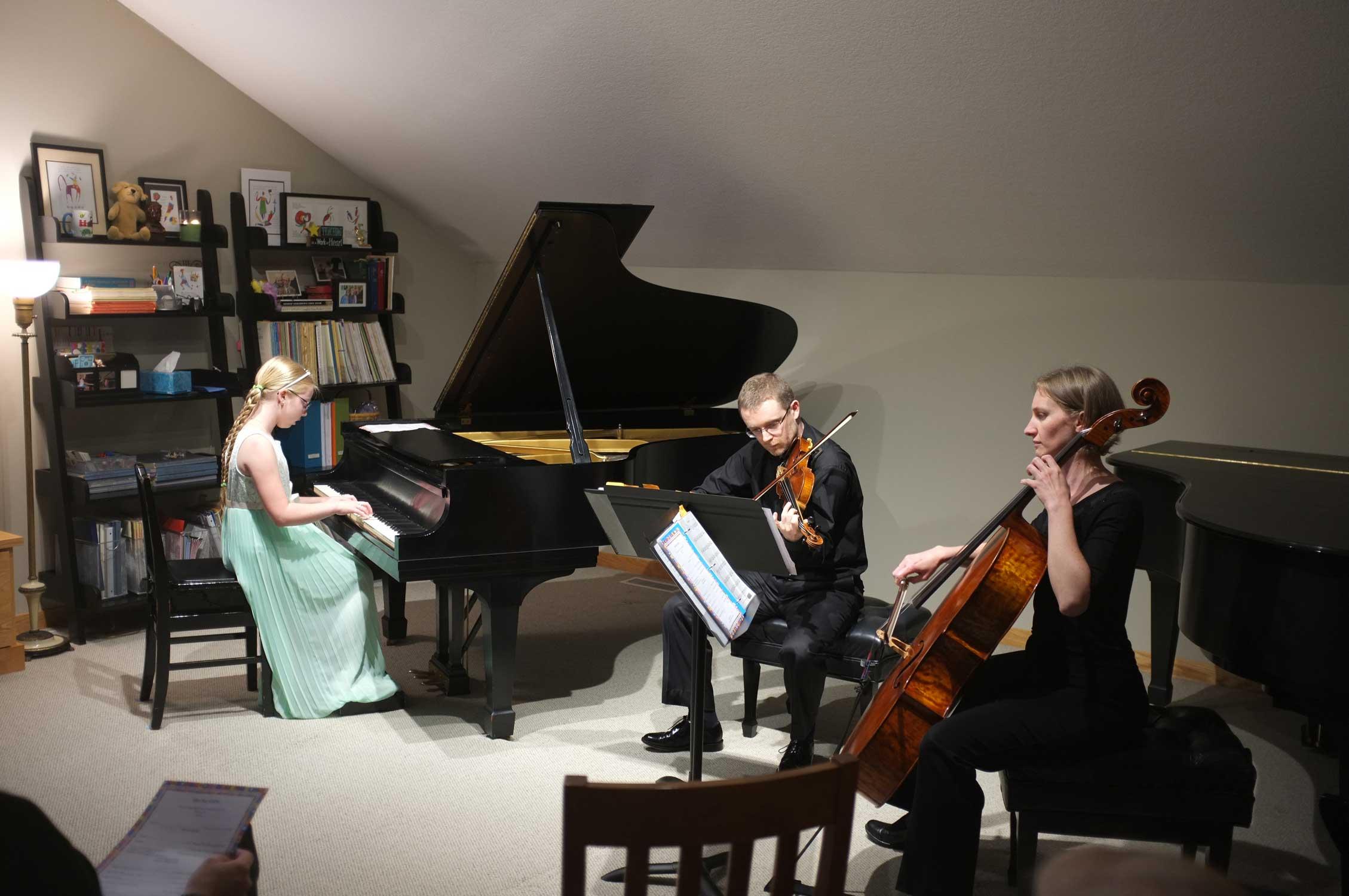 Student Trio