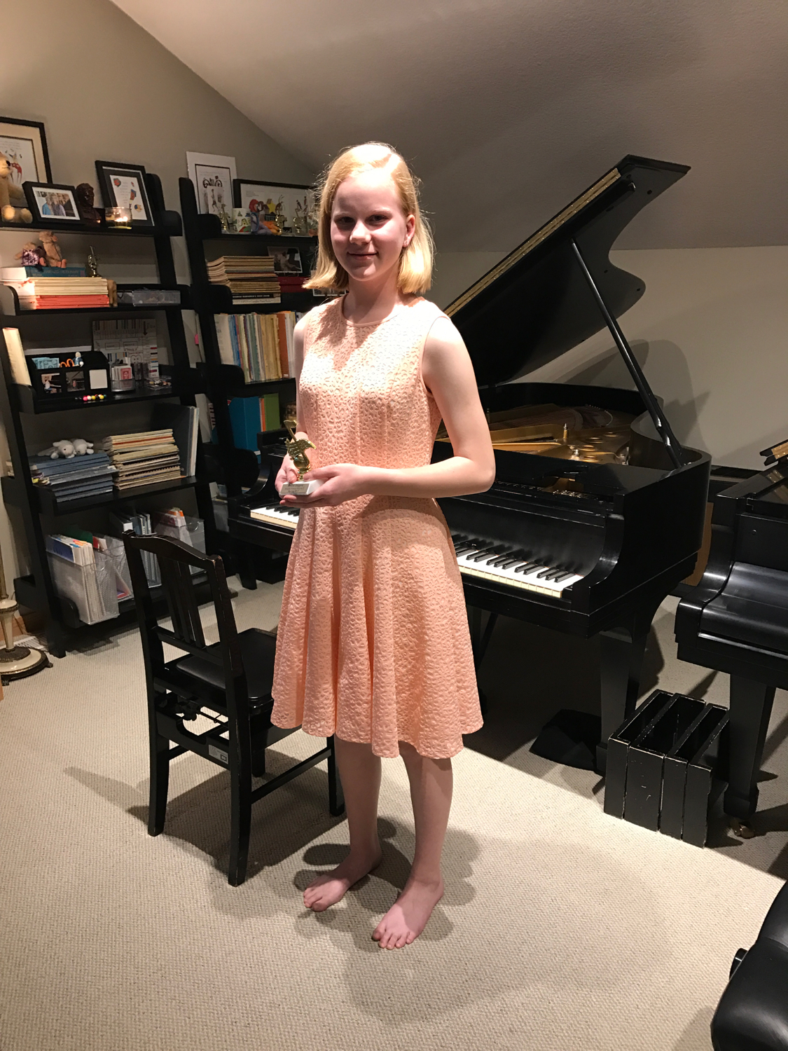 Britta's Book Three Recital