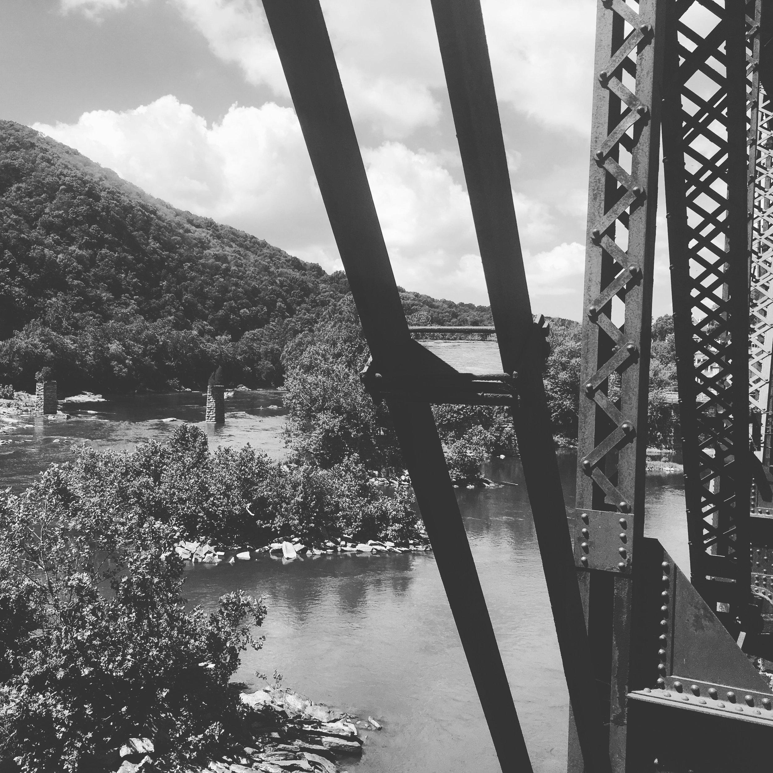 foot-bridge-harpers-ferry