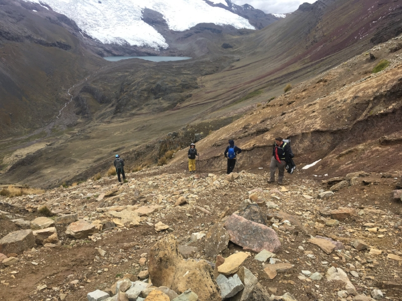 ausangate-trek-group-trail