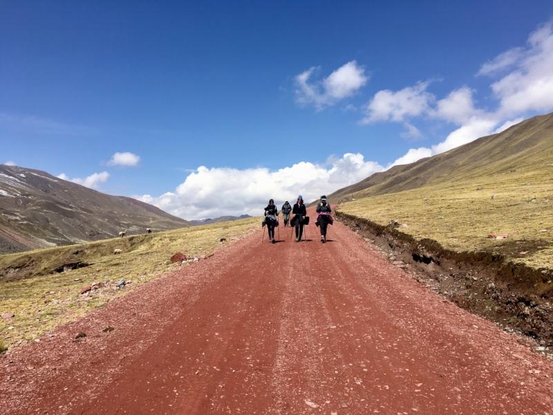 hikers-road