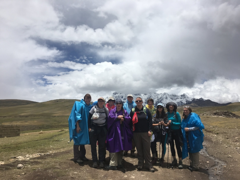 Cusco, Peru - During Eastern Mennonite Missions' (EMM's) first-ever adventure fundraiser, harsh weather and altitude effects didn't stop the 10 hikers from finishing the trek — and raising $58,142 to benefit the PROMESA school.