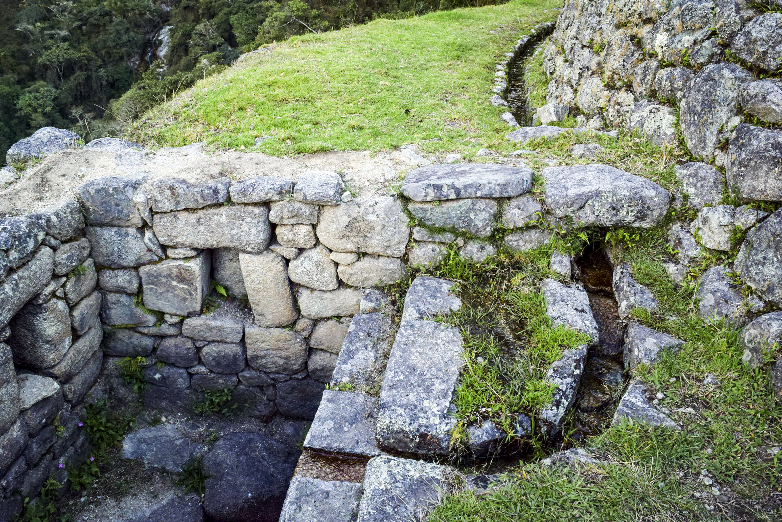 Incan Water System