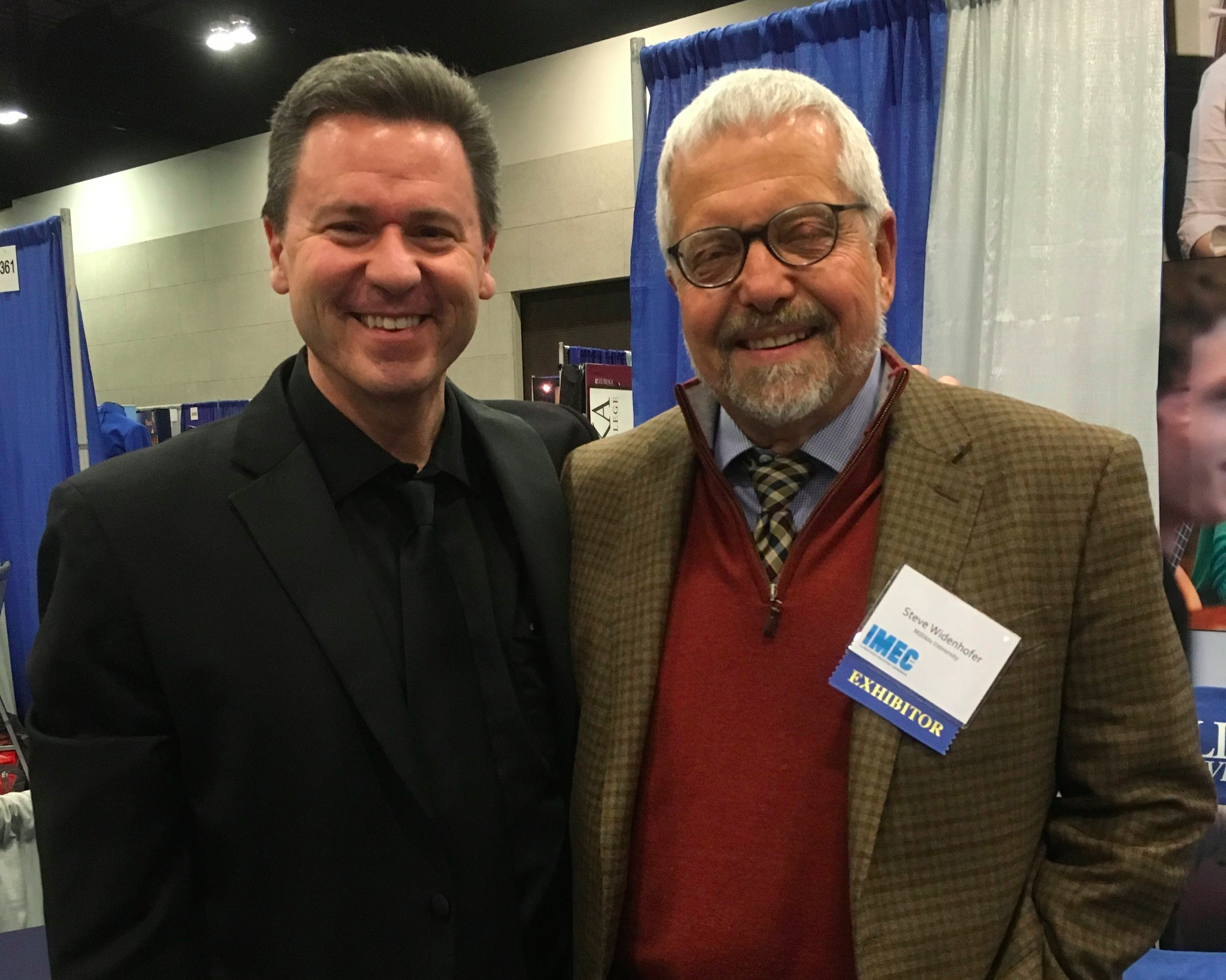 With Steve Widenhofer, January 2017