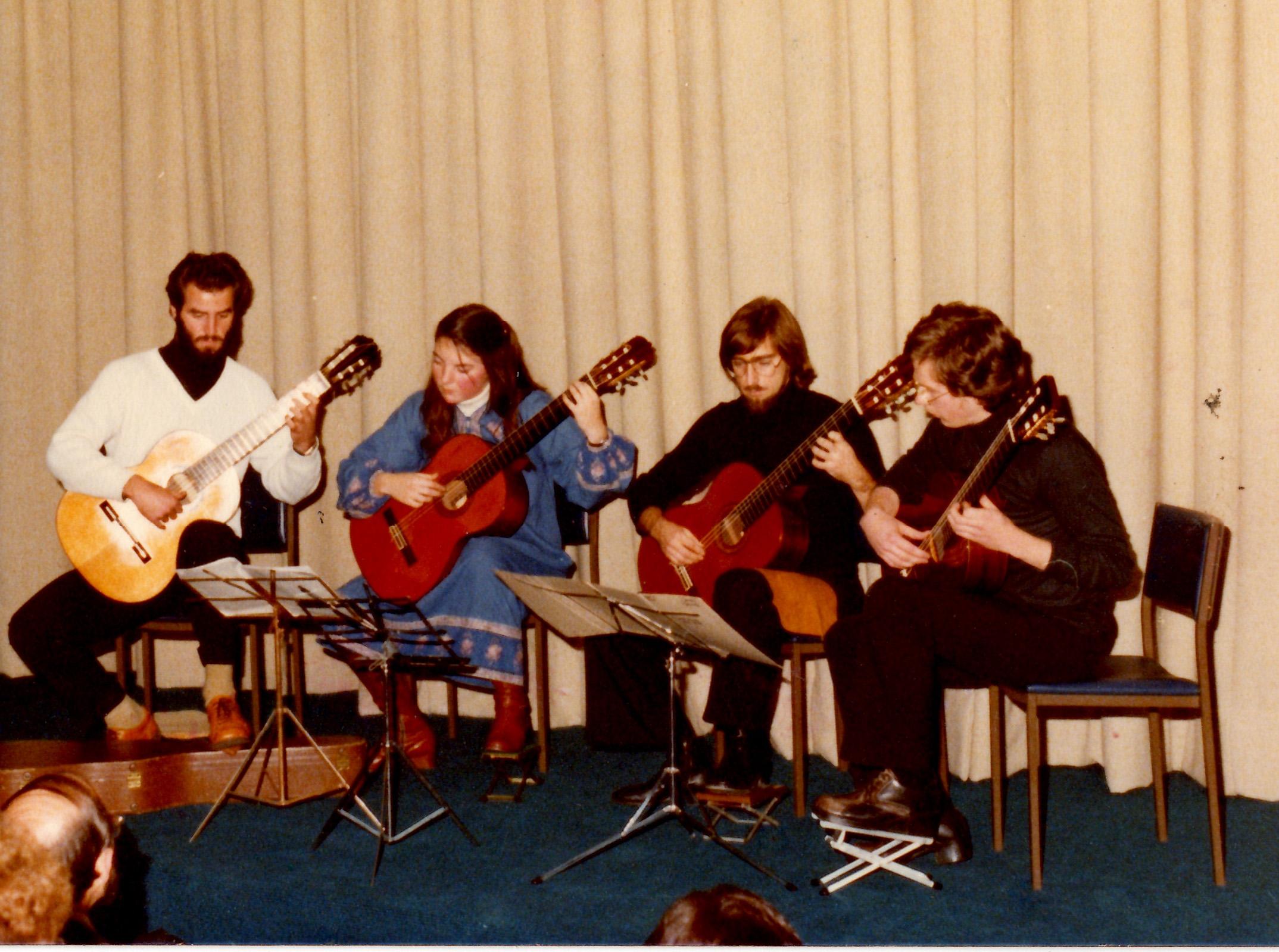 Ensemble of Ken's Conservatorium Student - 1980's