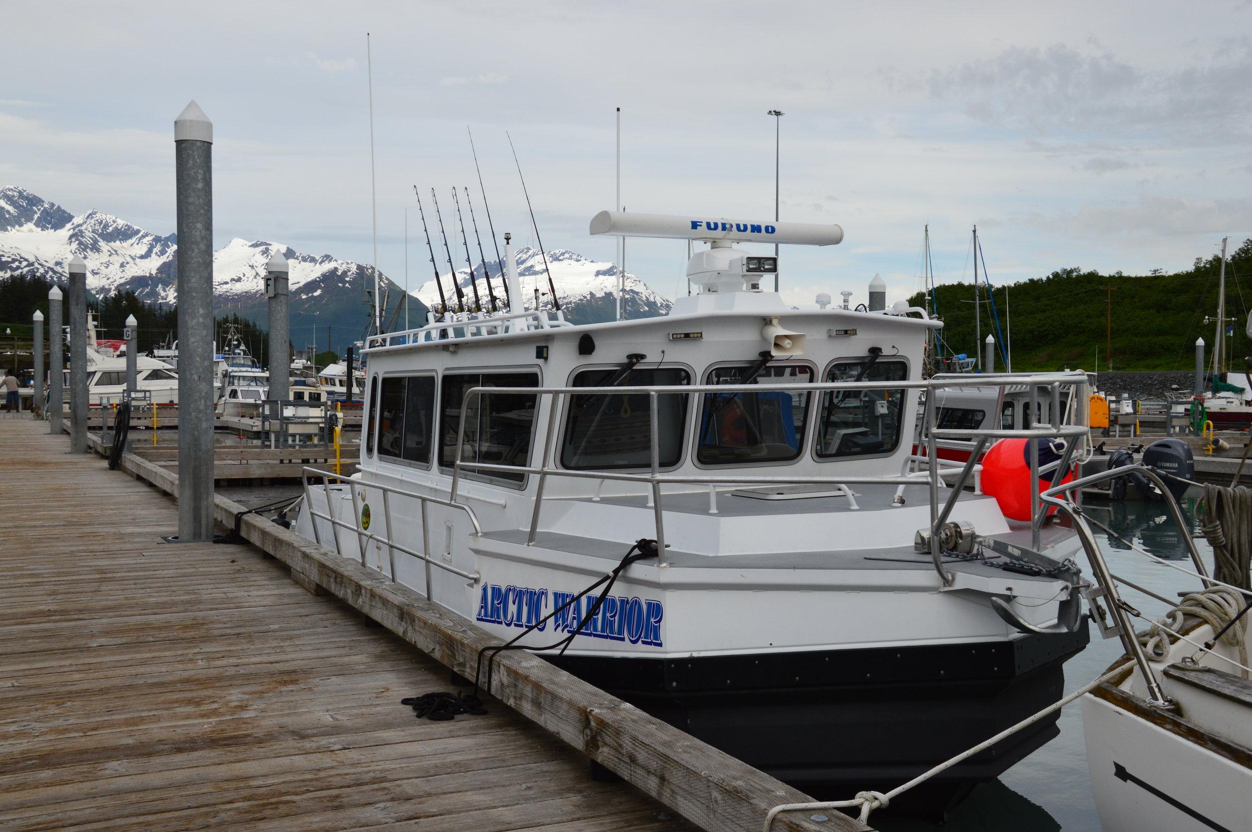 Arctic Warrior — Valdez Saltwater Adventures