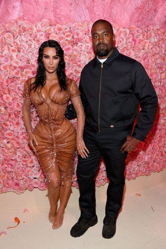 Kanye & Kim Kardashian West