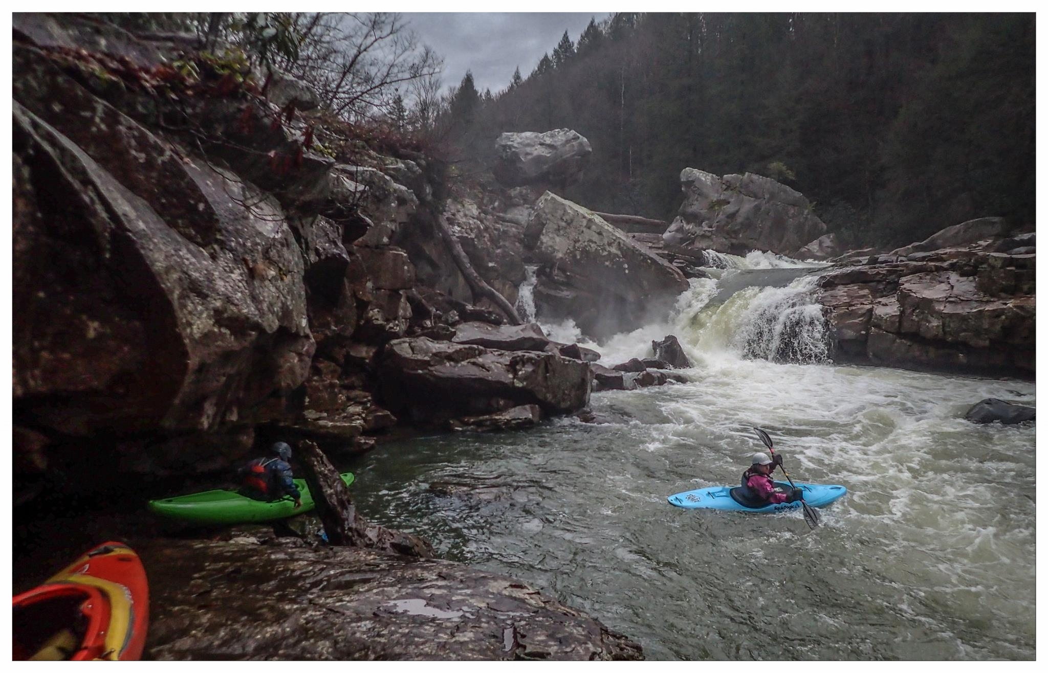 Christine Iksic - Lower Big Sandy Creek - W.V. Photo courtesy of Jeff Macklin
