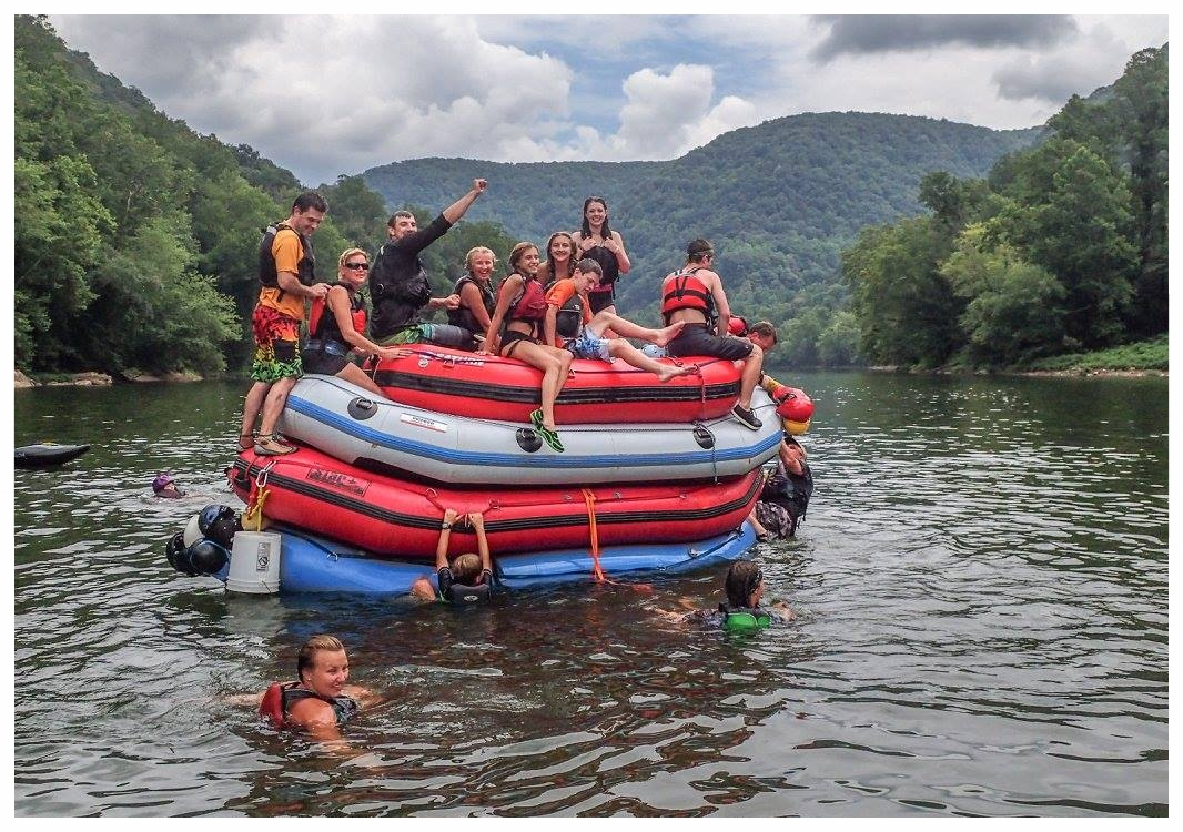 Photo by Jeff Macklin - New River Three Rivers Paddling Club Trip