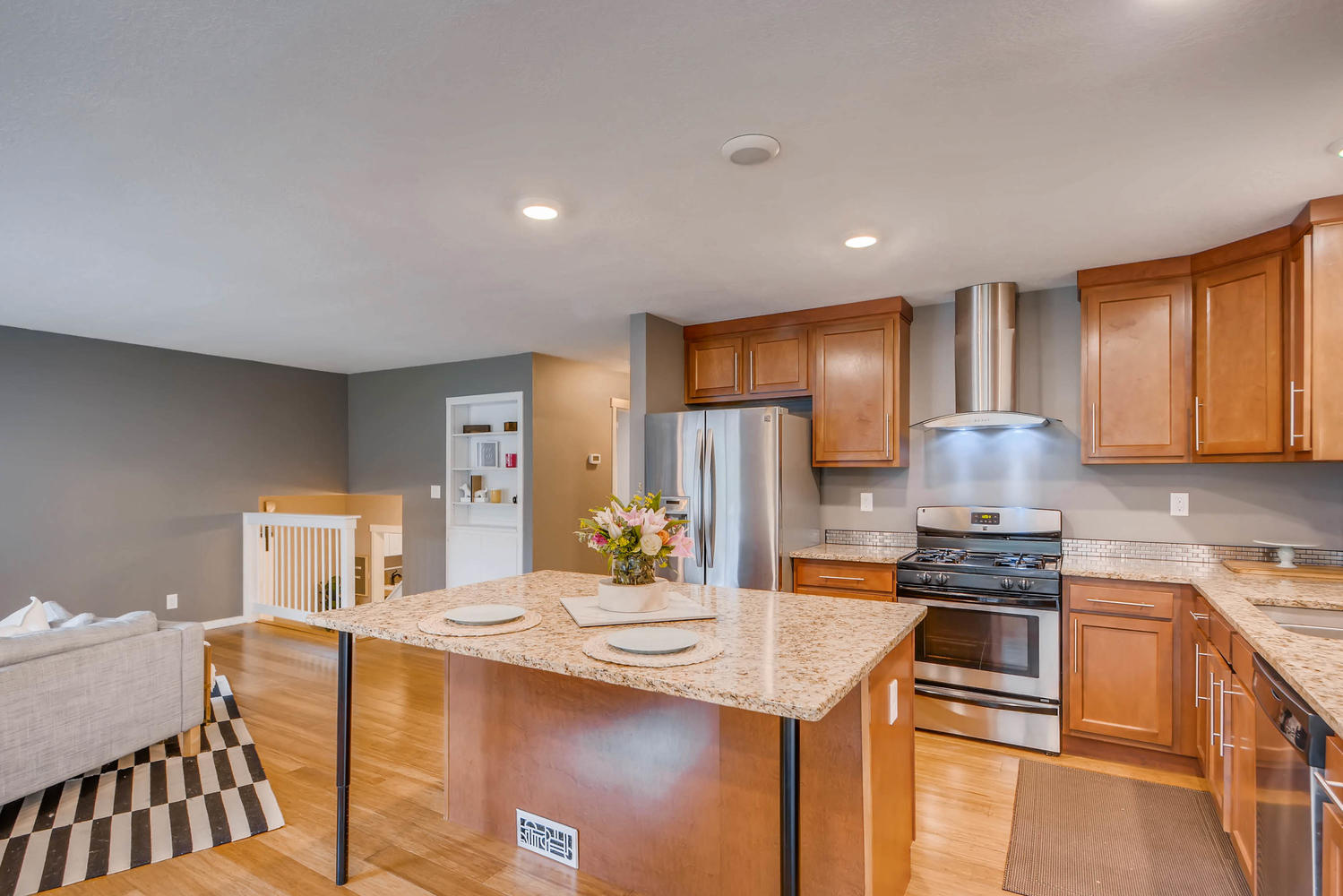 Granite Countertops, Stainless Appliances, and More!