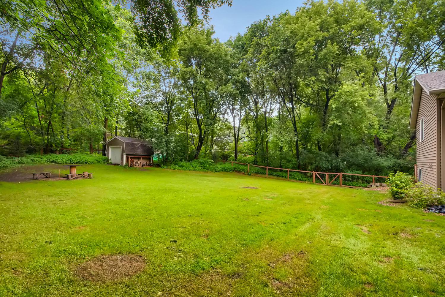 Large Backyard with Low-Maintenance