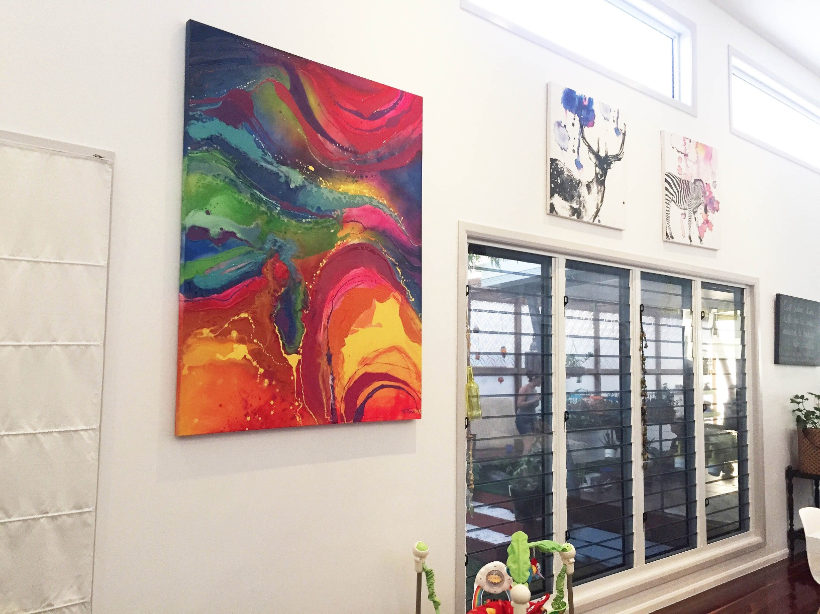 Coloured Abstract Artwork in local home.jpg