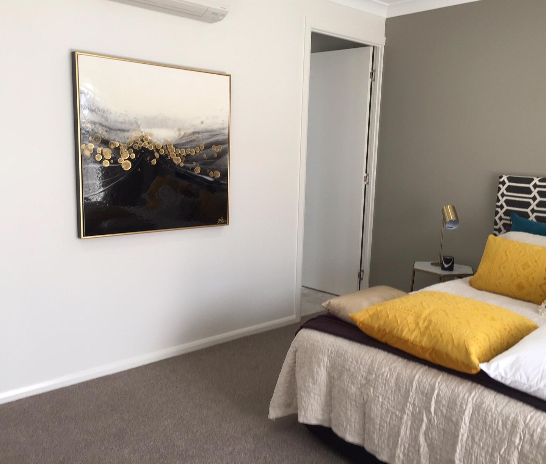 Custom Artwork for Lux Bedroom