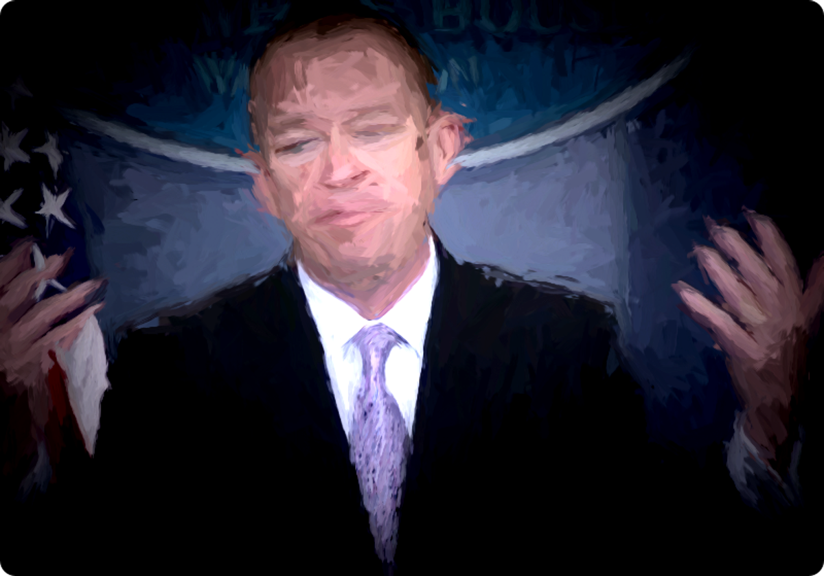 Mick Mulvaney, director of the Office of Management and Budget.