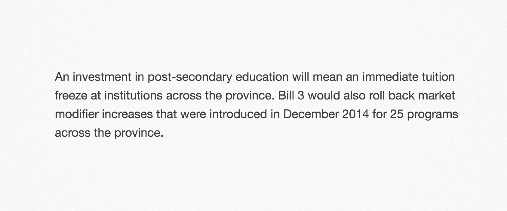 Bill 3  press release .