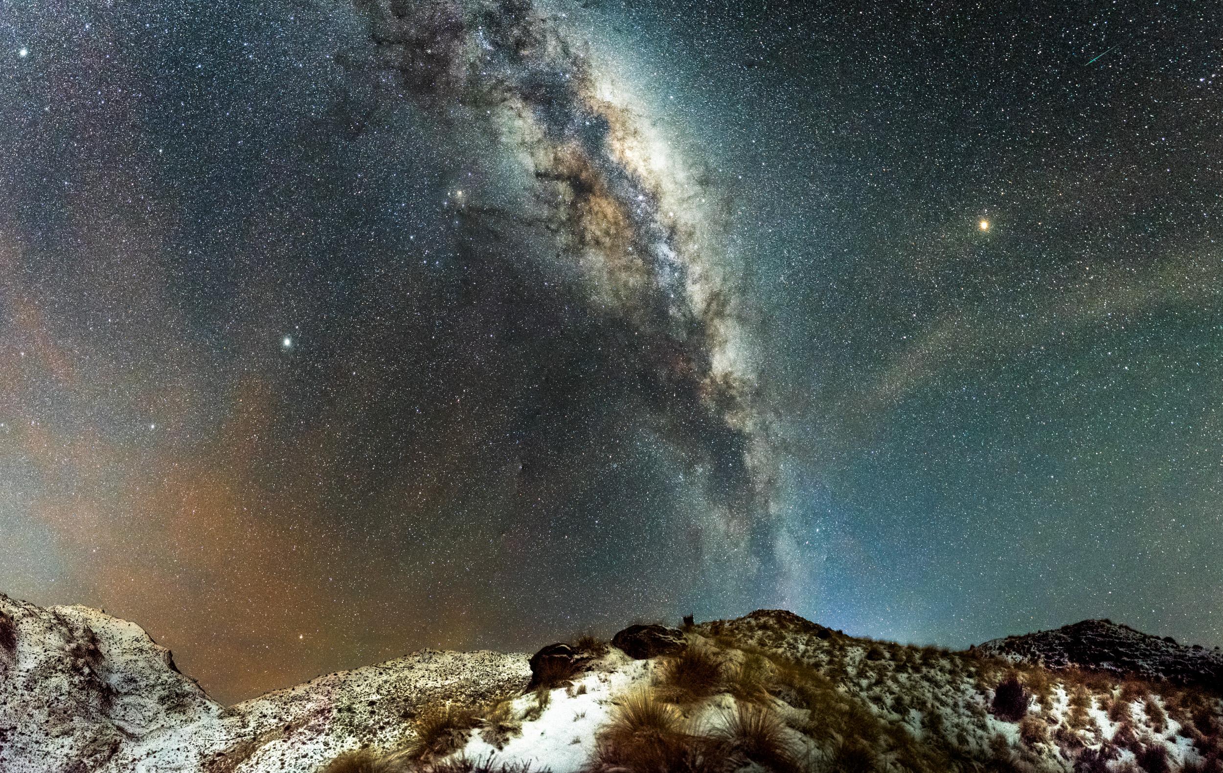 An astronomical panorma in Queenstown NZ