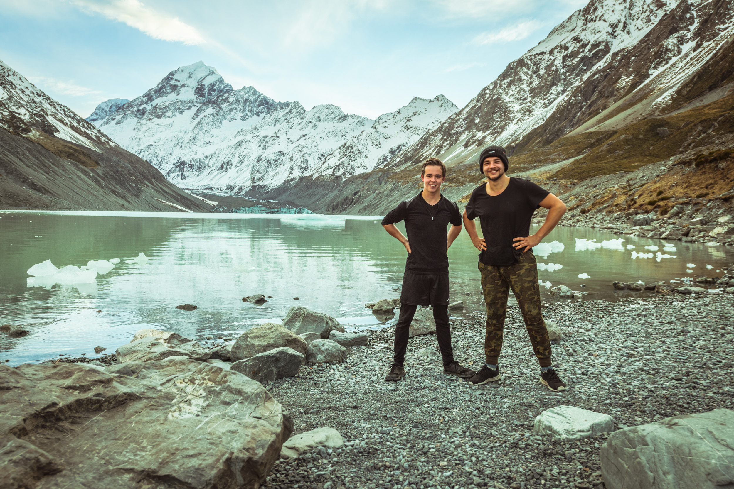 Germans at Hooker Lake