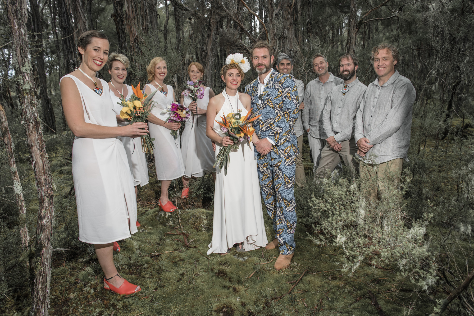 Lani & Hugh bridal party