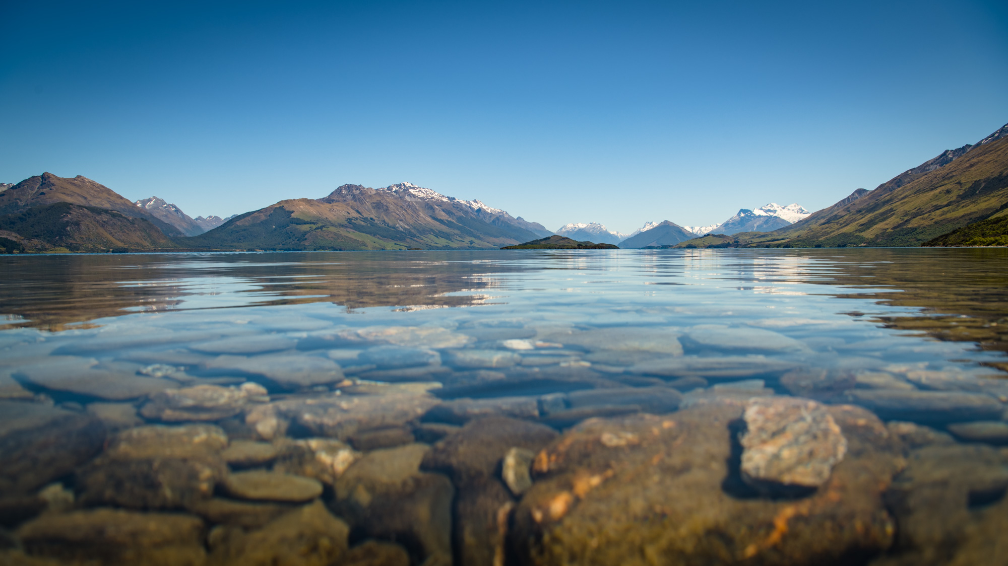 Lake Wakatipu - Queenstown New Zealand Points of Interest