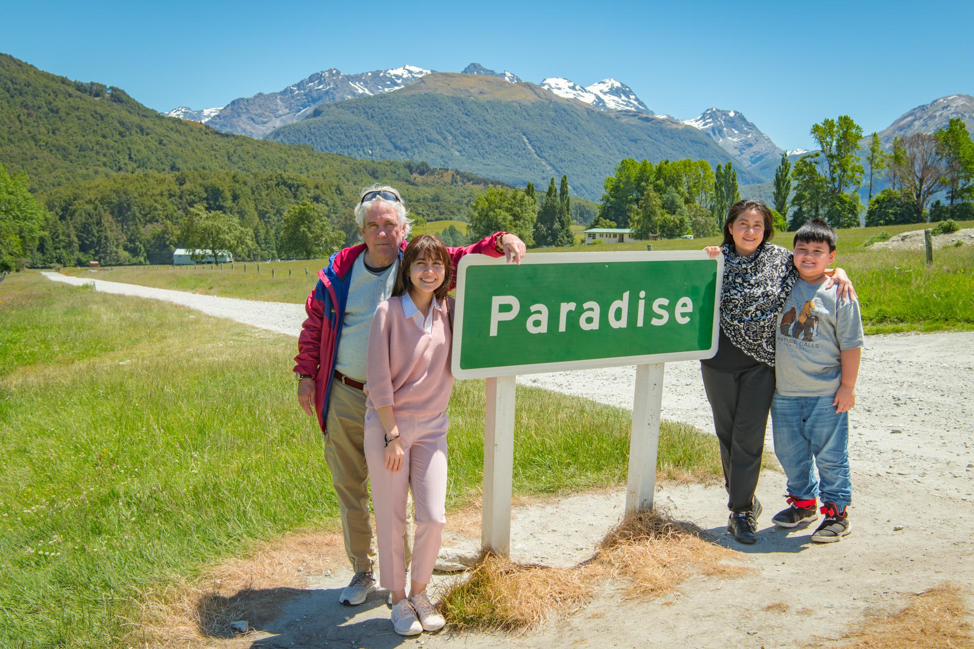 Paradise - A tiny New Zealand township