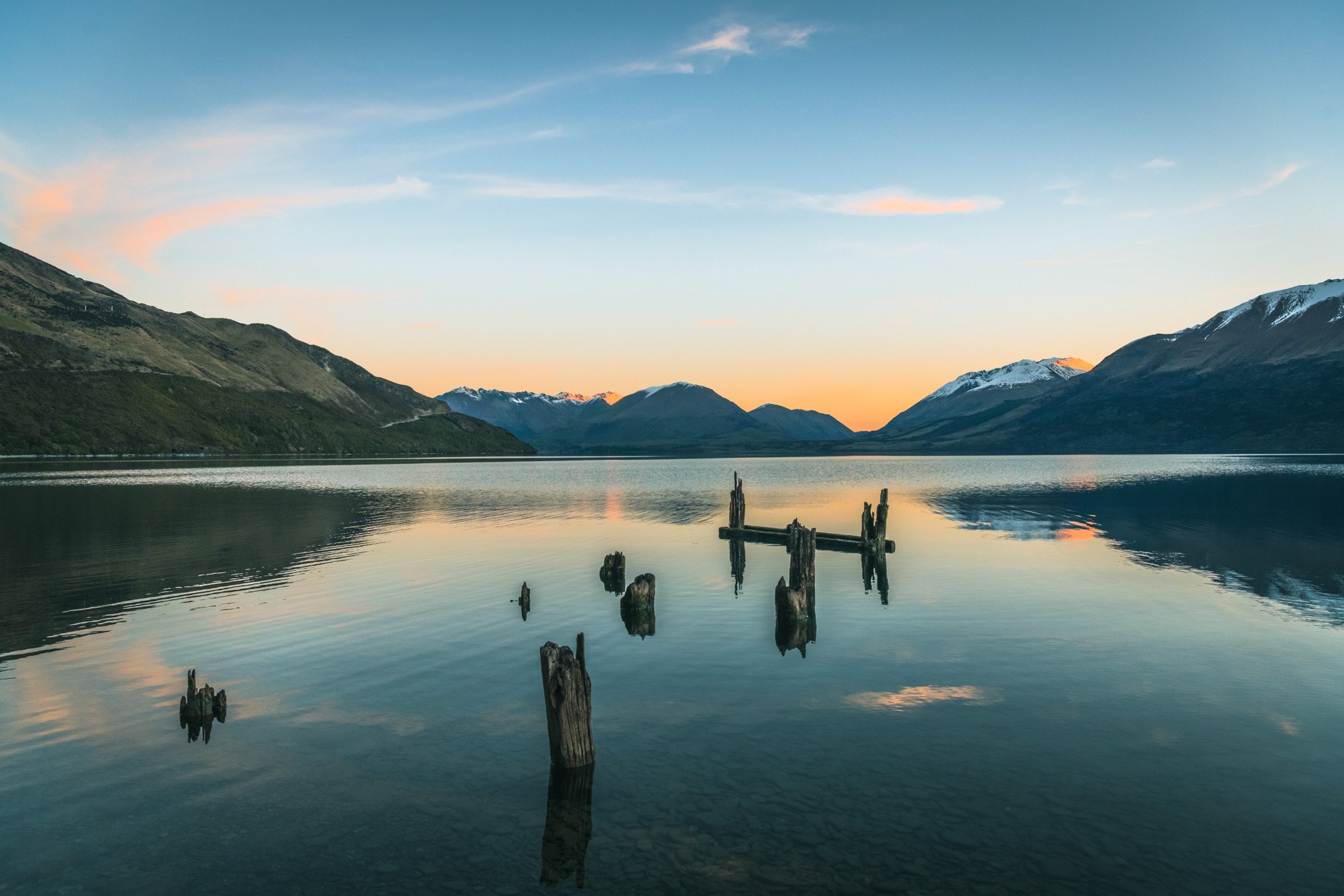 Meiklejohns Wharf - The Road To Glenorchy
