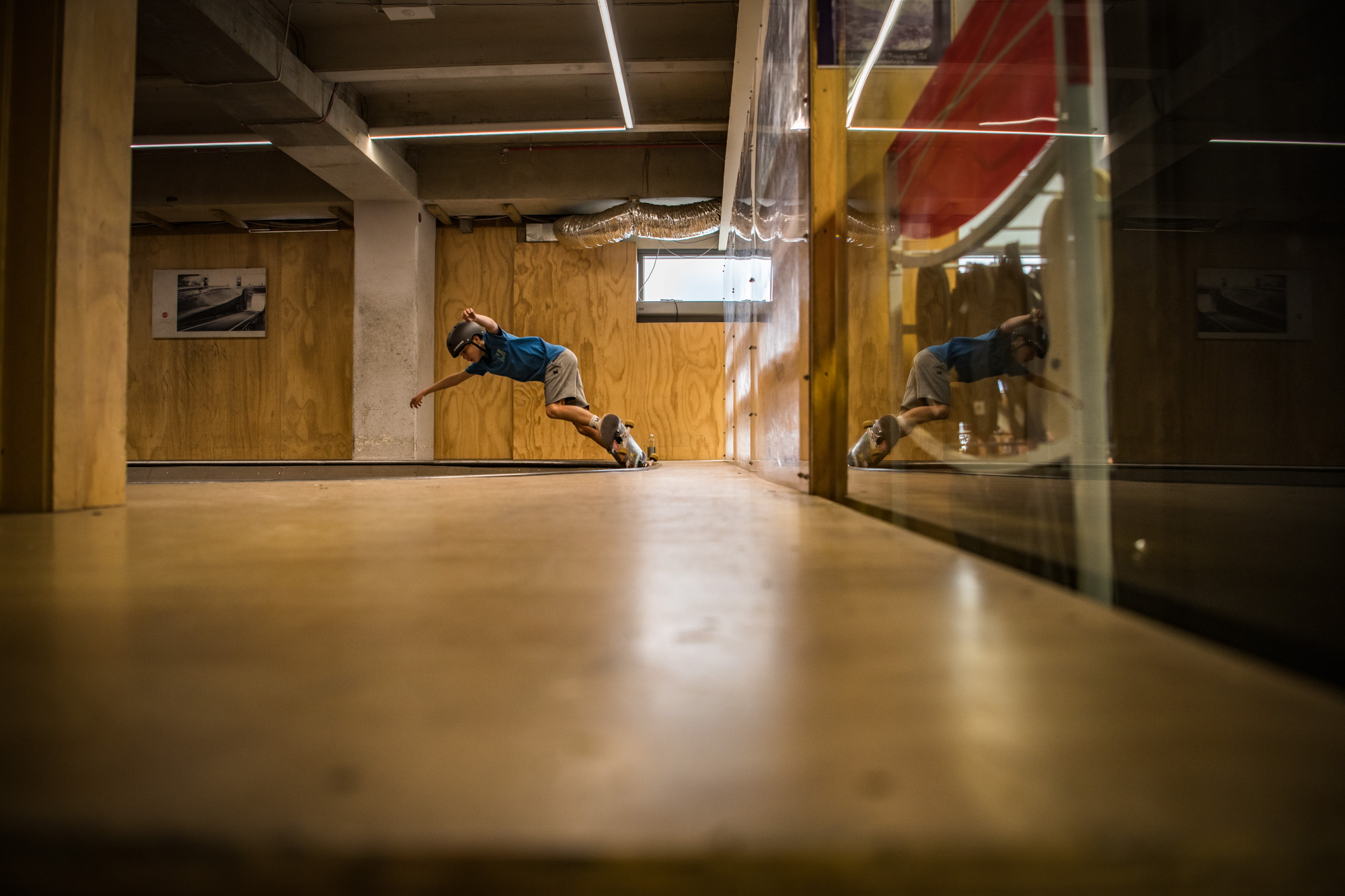 Boardertown Queenstown - Skateboarding Indoors