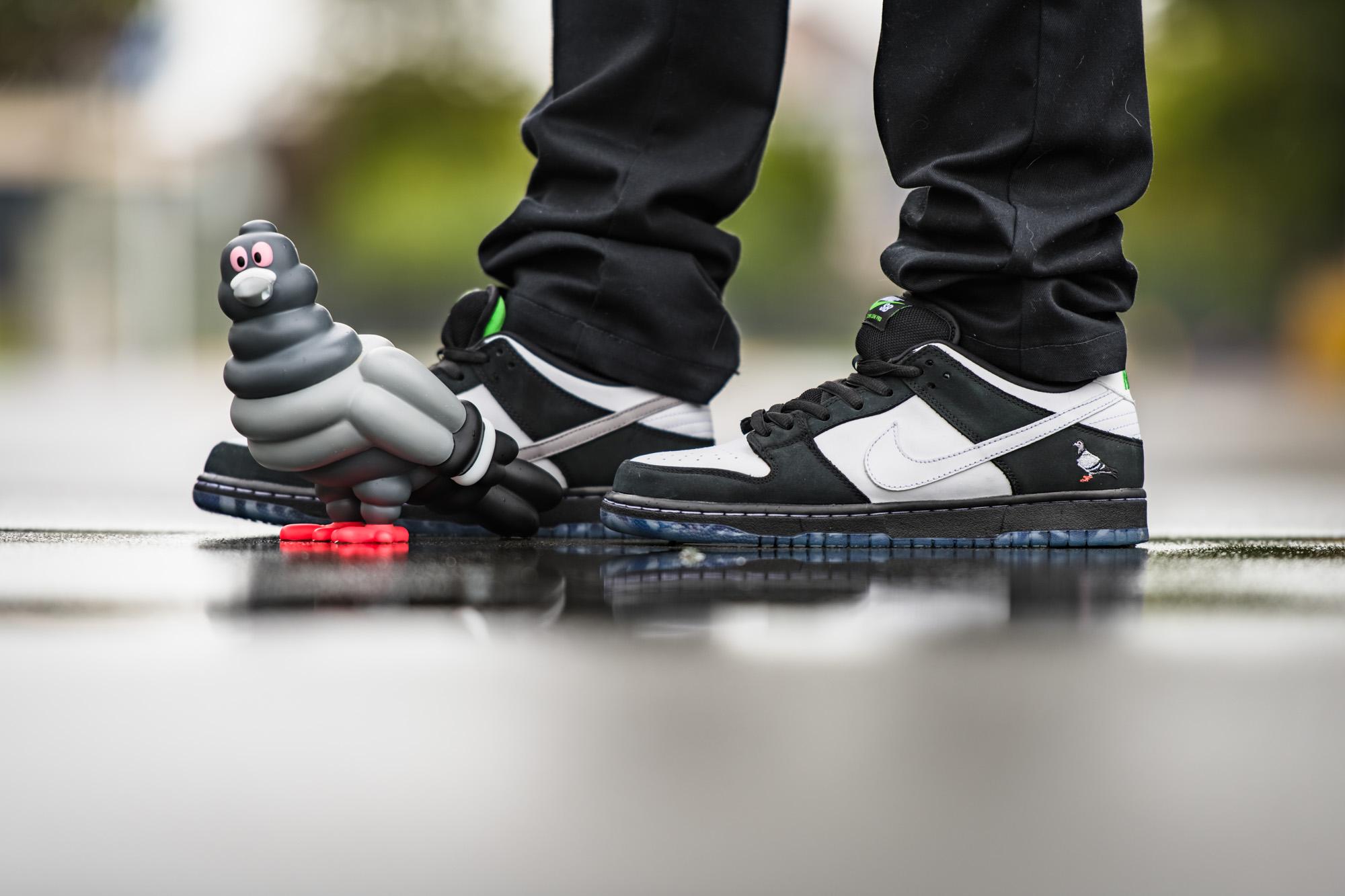 Nike SB Panda Pigeon - Kid Robot Pigeon