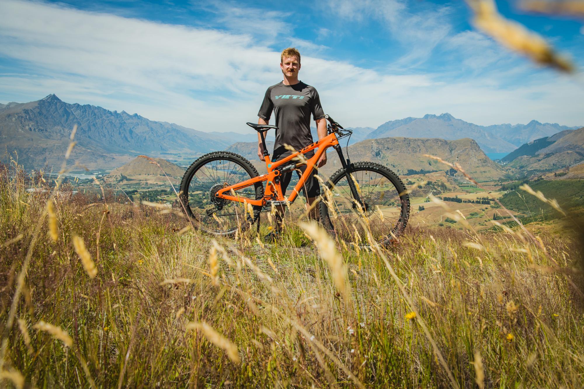 Jimmy Pollard - Bike check 2019 Yeti SB150