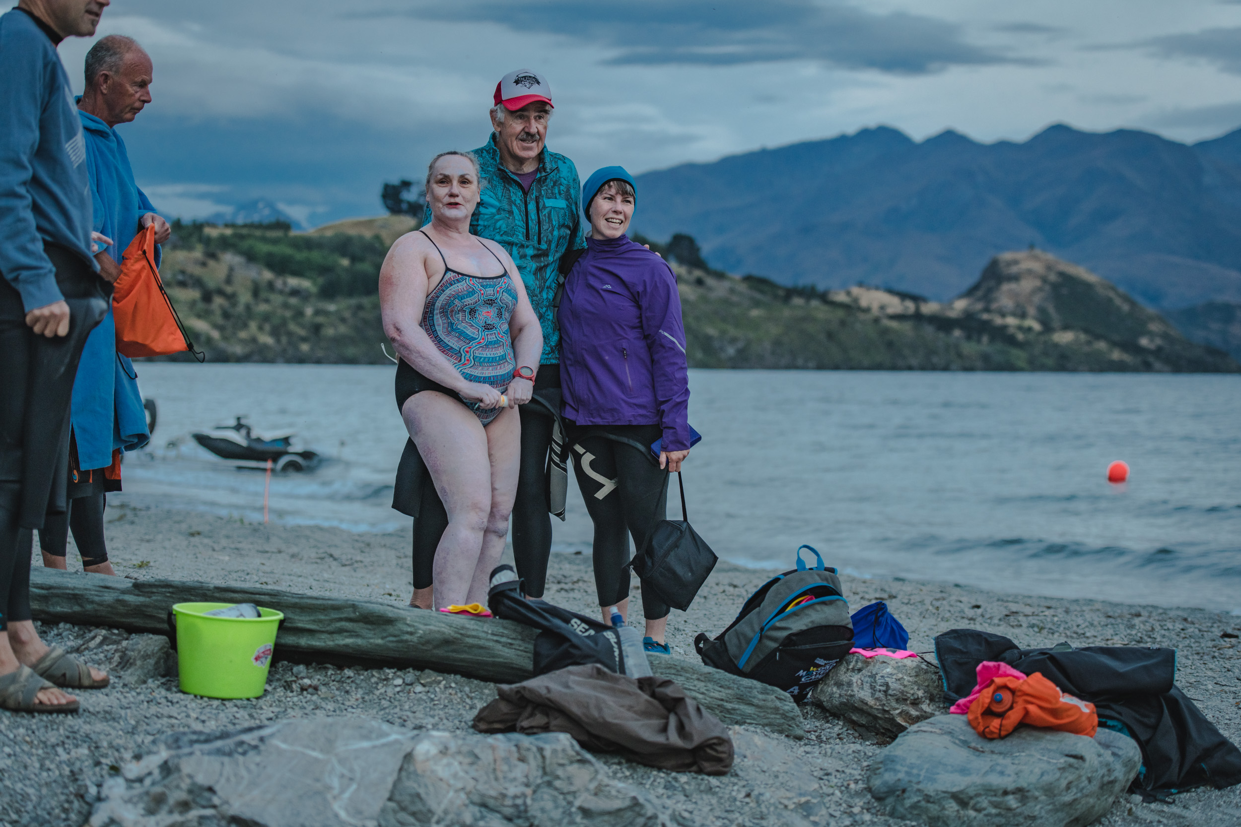 The Ruby - Lake swimming without a wetsuit - New Zealand Event Photography