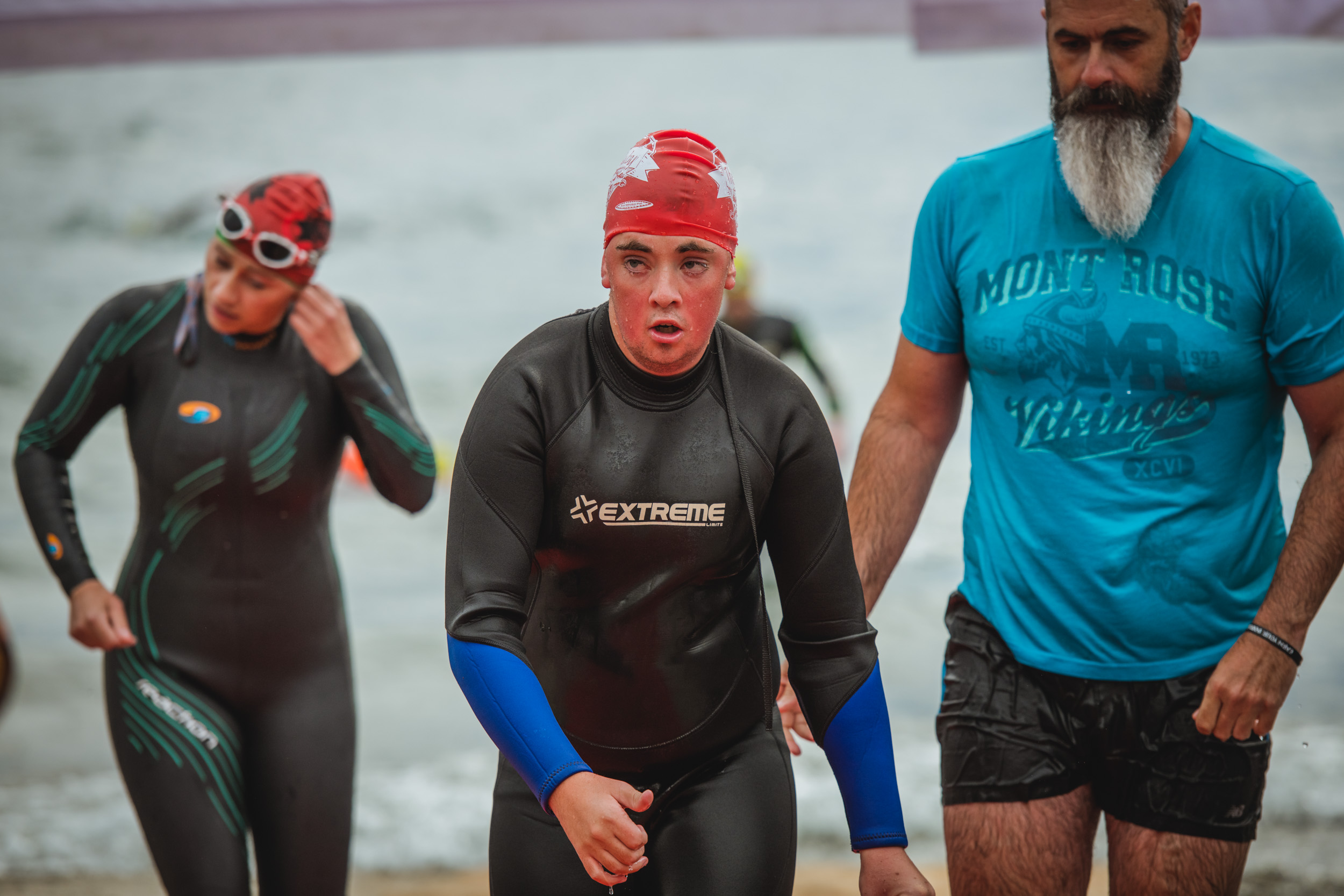 Scotty Emerging from Lake Wanaka