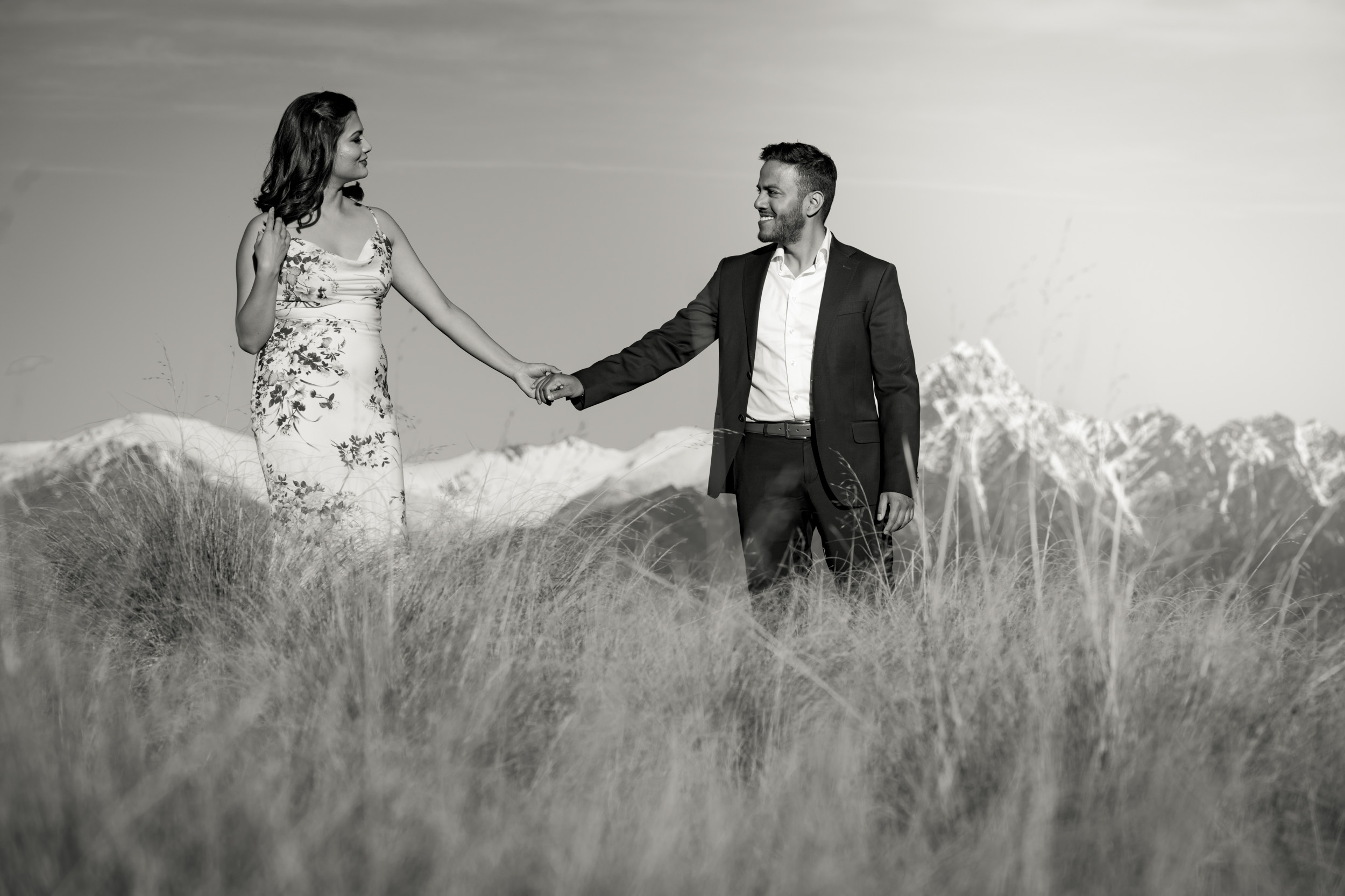 Queenstown offer the perfect backdrop for your professional engagement photographs