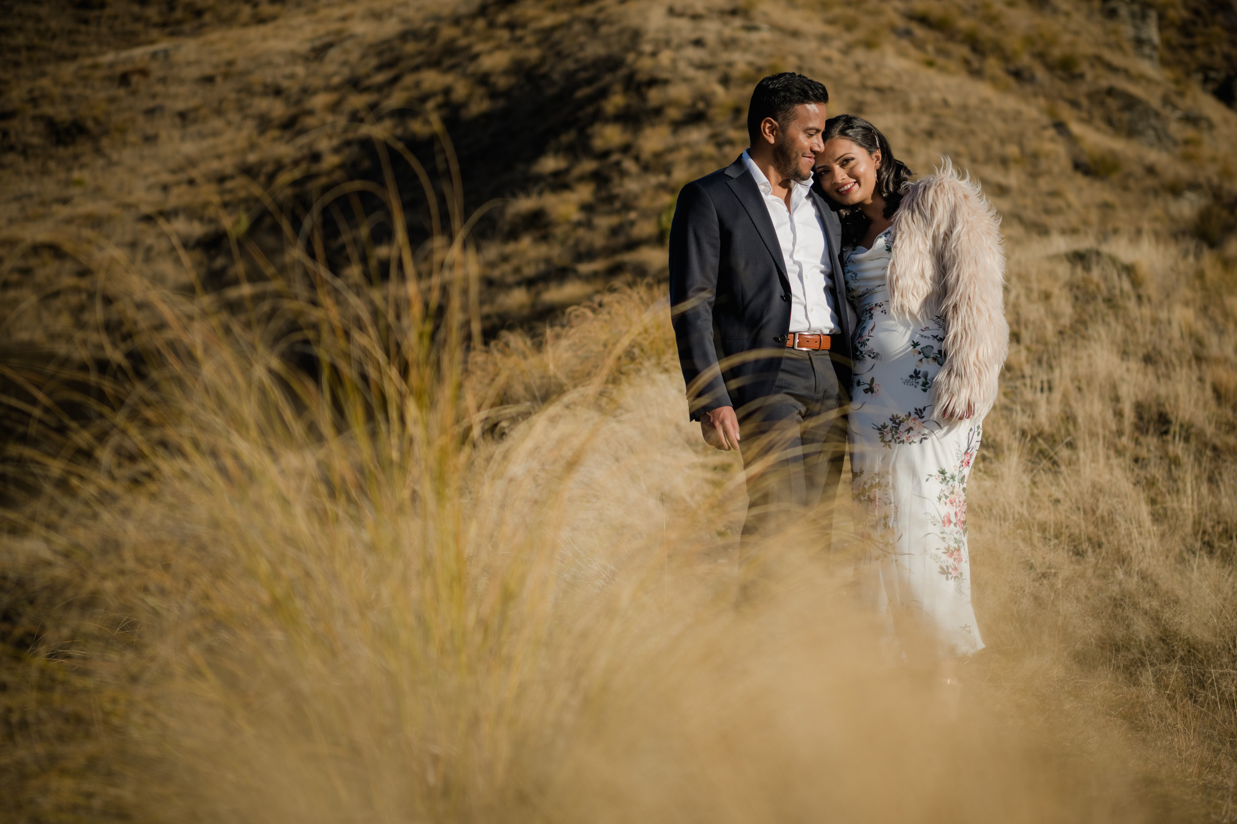 The happy couple - Professional Wedding, Engagement and Elopement Photography in Queenstown NZ
