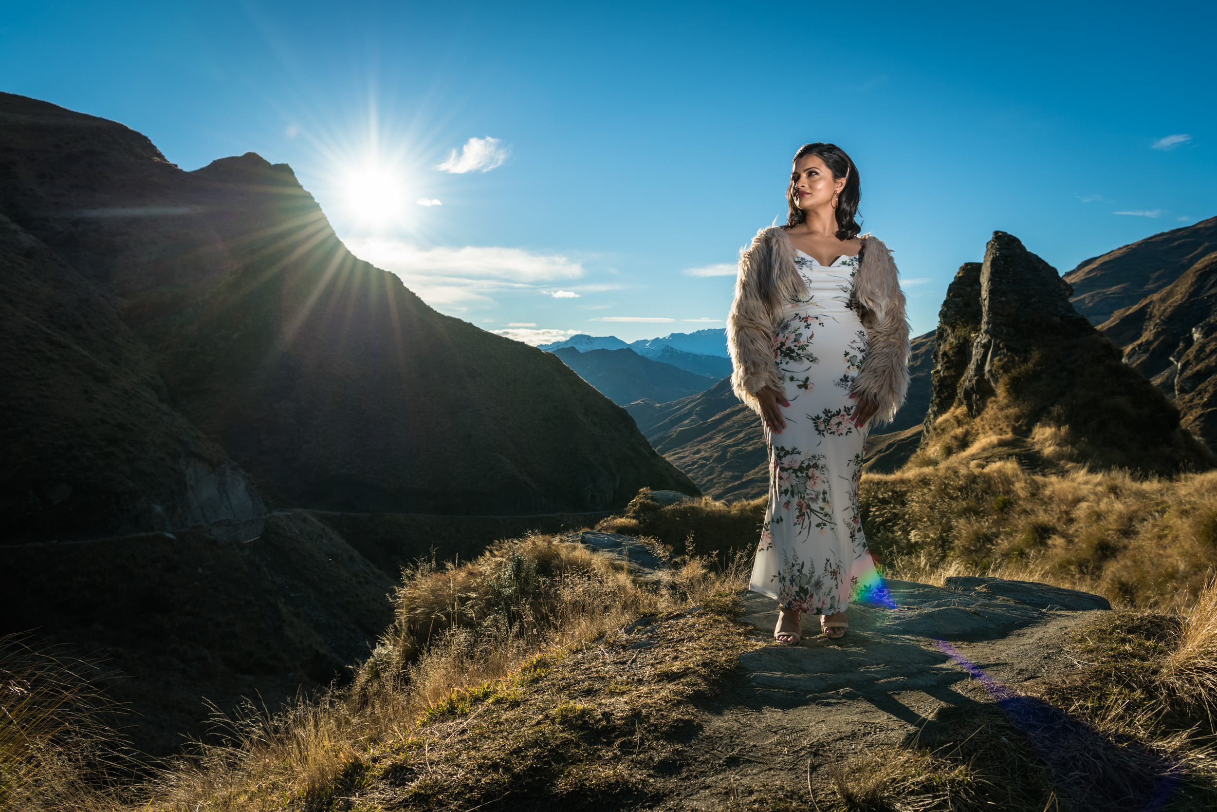 Professional Portrait Photography - Backcountry locations Queenstown NZ